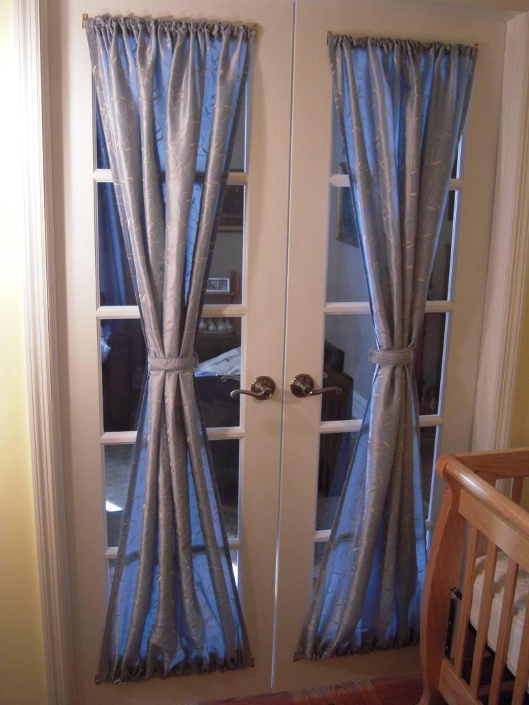 Как сделать шторки на дверь своими руками