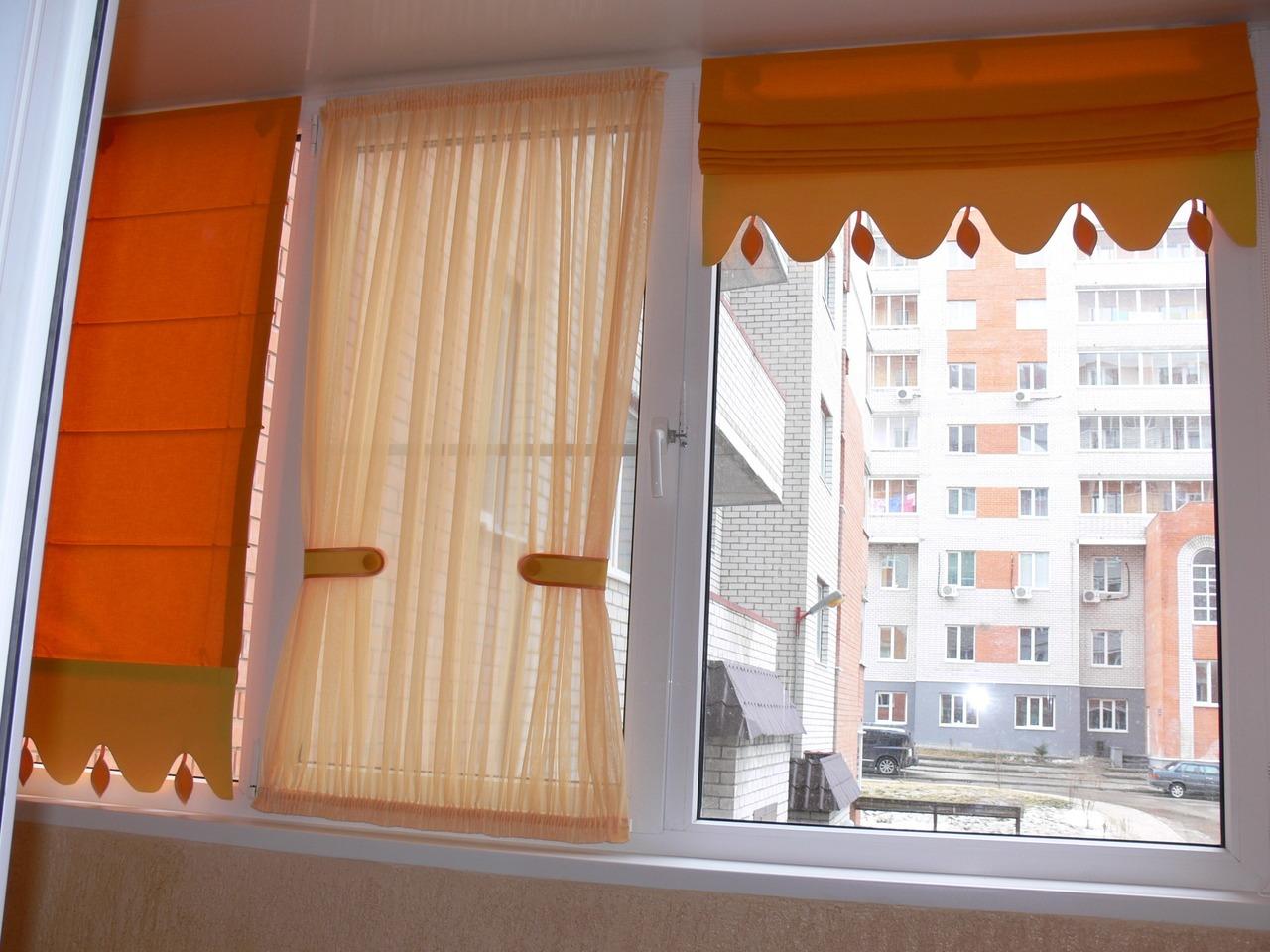Сшить шторы на балкон выкройки с фото