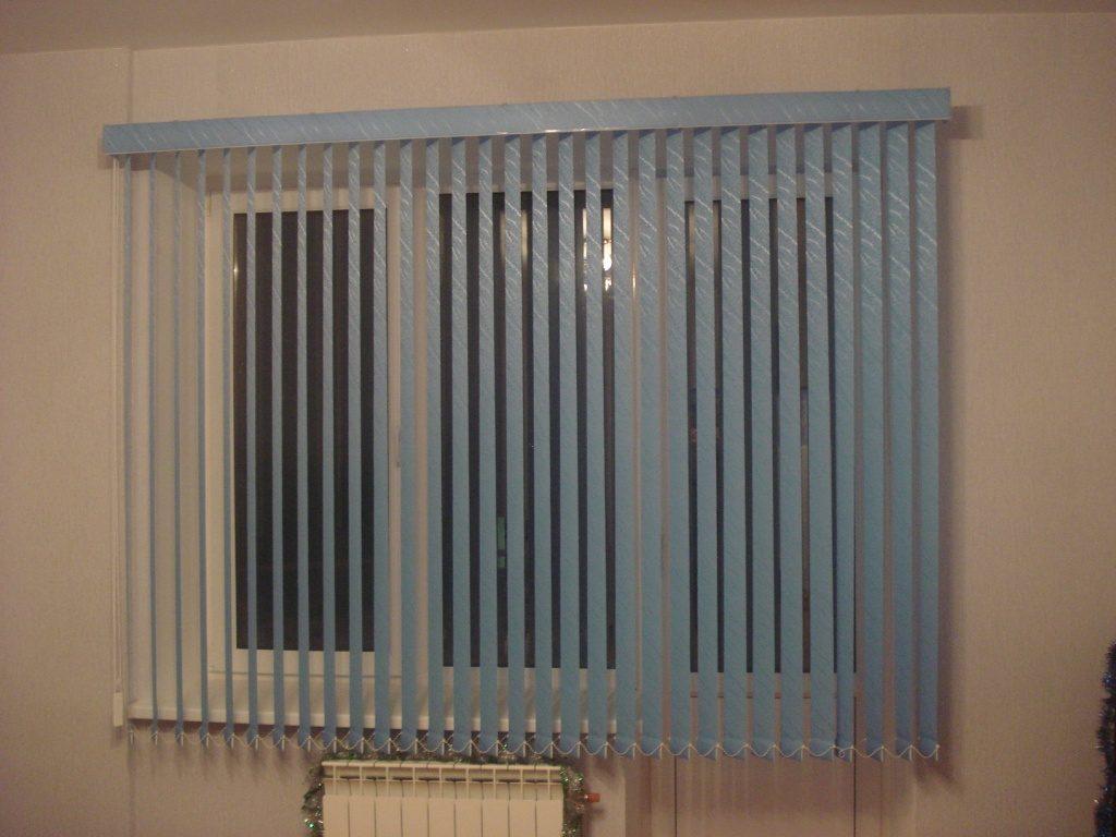 Вертикальные жалюзи на окна фото
