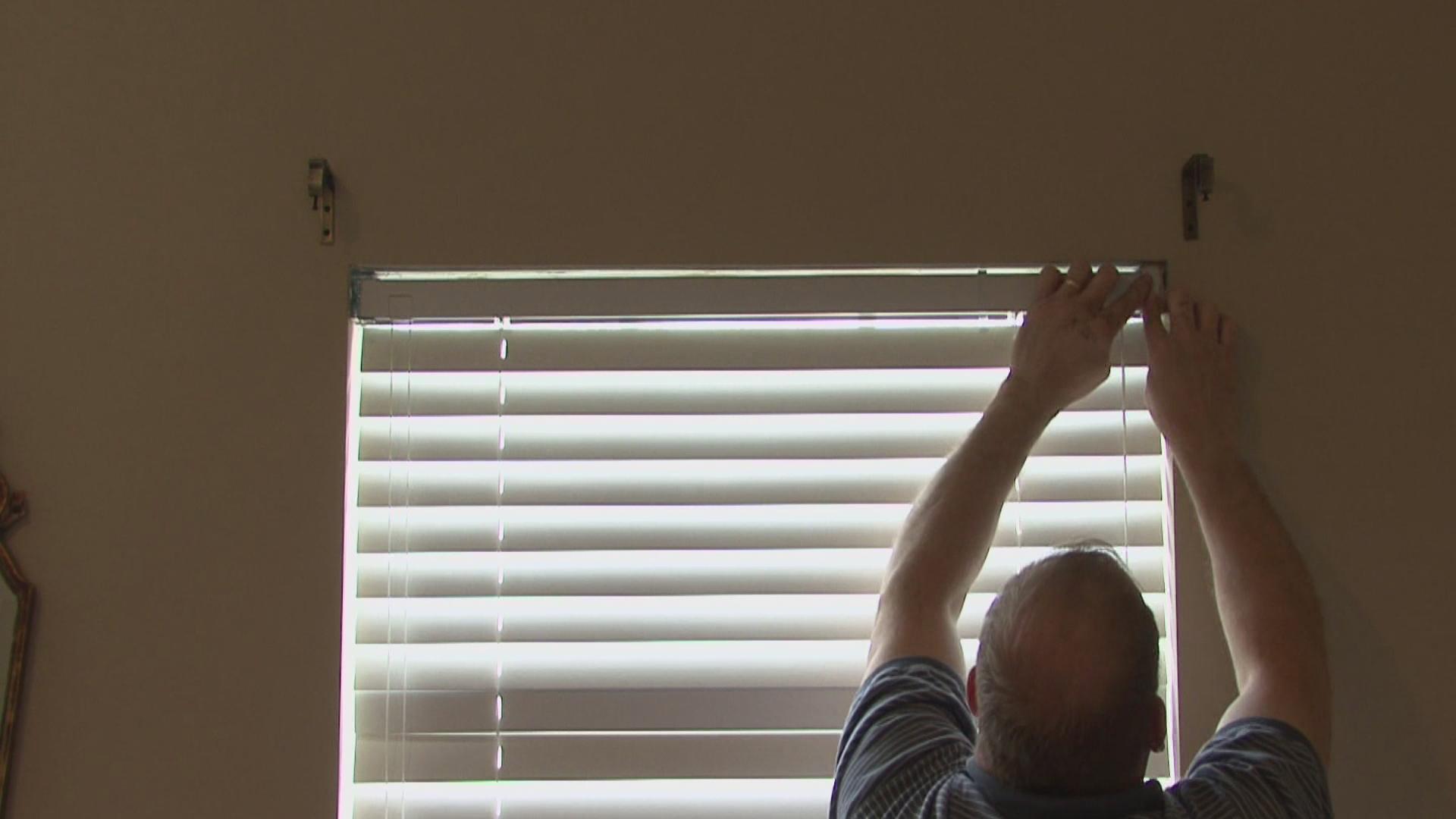 Как установить горизонтальные жалюзи своими руками