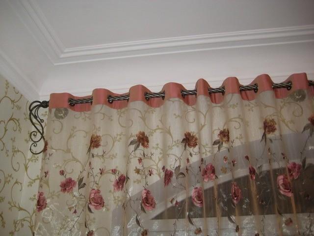 Изготовление штор на люверсах