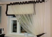 римские шторы и тюль