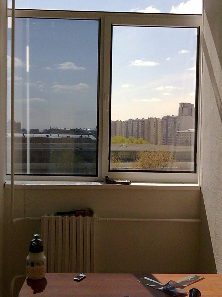 Солнцезащитная пленка на окна, балконы, цена - 70 грн, закар.