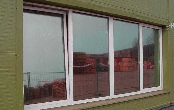 плёнка на окнах